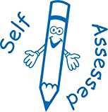 """Self assessed"" Self inking teacher reward stamp X12056"