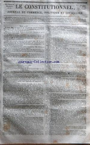 CONSTITUTIONNEL (LE) [No 130] du 10/05/1825 - PARI...