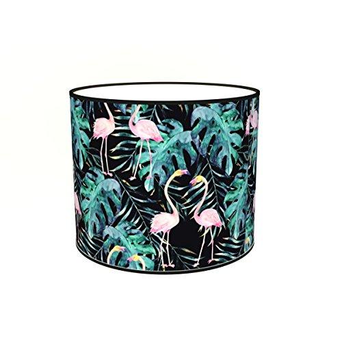 Abat-jours 7111302503915 Imprimé Flamio Lampadaire, Tissus/PVC, Multicolore