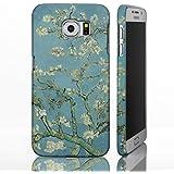 Classic Art Collection casos para la gama de Samsung Galaxy. famosa Artista Pintura fundas, plástico, Almond Blossom - Vincent Van Gogh, Galaxy S6