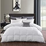 Luxurious 15 Tog - 100% White Goose Down Duvet/Quilt, Single Size,White