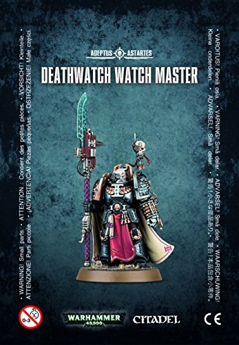 Games Workshop 99070109003 Warhammer 40.000 Reloj de Deathwatch Master Action Figura