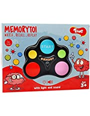 Toiing Memorytoi – Electronic Memory Game, Great Travel Toy for Kids of Age 4 Years & Above