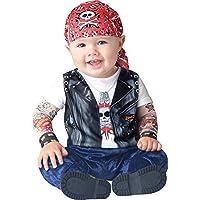 Deluxe bambino ragazzi nati to be selvaggio motociclista manicotti del tatuaggio travestimento vestito