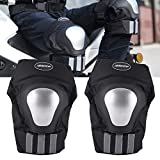 #5: AllExtreme (BSDDP) Pair of Adults Knee Armor Protection Guard Motorcycle/Bike Cycling Knee Pads Protector Protective Gear Knee Protection equipment for Motorcycle Racing Bike Riding Skating Outdoors Sports (Set of 2)