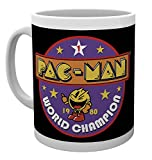 GB eye Pacman World Champion Mug, Wood, Multi-Colour