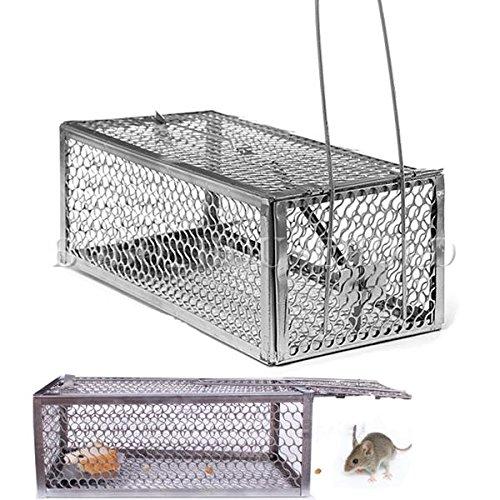 Contr™le Rat Rongeur Souris animale Catch Pest Hamster Cage Souris Pige Humane en direct