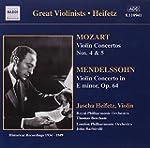 Mozart, Concertos N 4 & 5 - Mendelsso...