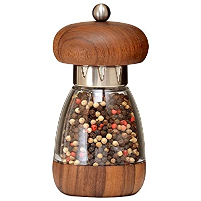 William Bounds 5.75-inch Mushroom Pepper Mill, Walnut by Bounds