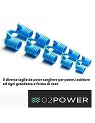Nasivent sport Blu. especial Dilatador nasal para le activitas deportivas en caja de 5 unidades especial antironquido para dormir mejor y aumentar rendimiento fisico