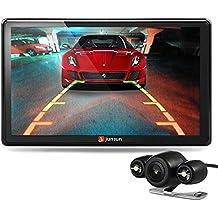 GPS para Coche - Junsun 7 Pulgadas Pantalla Táctil Navegador GPS para Camión con Bluetooth FM