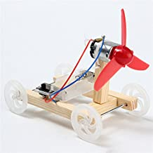 Rishil World DIY Technology Invention Single-Wing Wind Car Assembly Model Kit