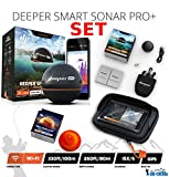Deeper Smart Sonar Pro + Plus Set Wifi + GPS + Night Fishing Cover + Case