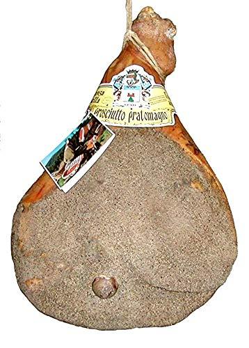 Prosciutto pratomagno extra kg. 7,4 - prosciutto crudo, stagionato, 100% italiano, con osso