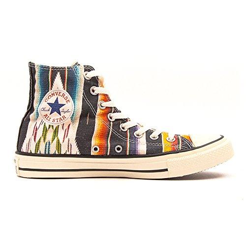 Converse 144826, Femme Sneakers Black