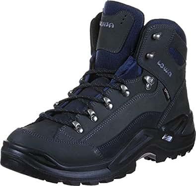 LOWA RENEGADE GTX 3109459449 Unisex-adult Hiking Boot, Black 4 UK