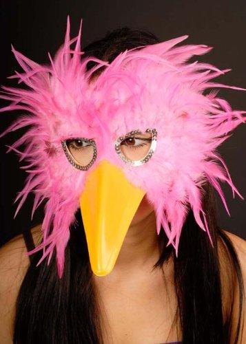 Magic Box Int. Hen Night Rosa Feder Vogel Augenmaske