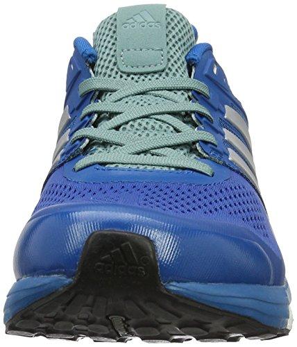 adidas Supernova Glide 8, Entraînement de course homme Bleu (Unity Blue/Silver Metallic/Vapour Steel)