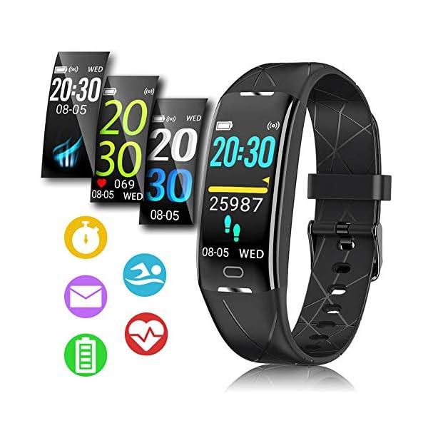 Pulsera Actividad Hombre Mujer - Pulsera Actividad Inteligente Reloj GPS Temporizador Podómetro Pulsómetro Impermeable IP68 Pulsera Deportiva Smartwatch Para Xiaomi Samsung Huawei Android iPhone iOS 1