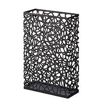 Yamazaki Nest Slim Rectangular Umbrella Stand Storage, Black
