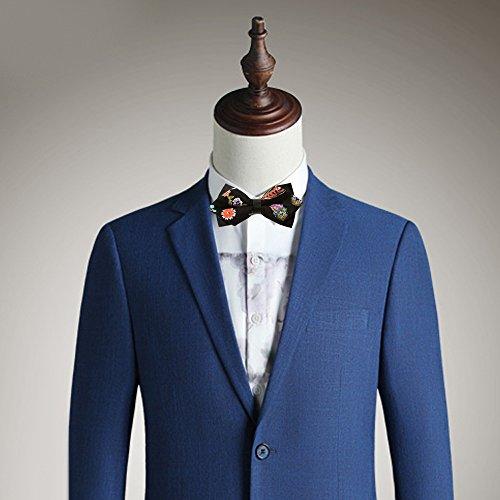 Novelty Tuxedo Cravate Noeud Papillon Réglable pour Mariage Homme #5