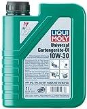 Liqui Moly 1273 Universal Gartengeräte 10W-30 - Aceite multigrado para motores de cortacéspedes de 4 tiempos (1 L)