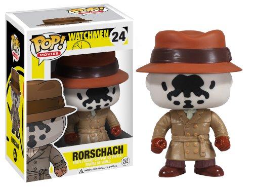 (DC Comics Funko Pop. Watchmen Rorschach Figur)