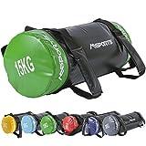 MSPORTS Power Bag Premium 5-30 kg Fitness Bag - Sandsack für Functional Fitness Gewichtssack (15...