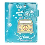 Shagwear Junge-Damen Geldbörse, Small Purse Designs: (Spannende Abenteuer Dunkeltürkis/Great Adventures)
