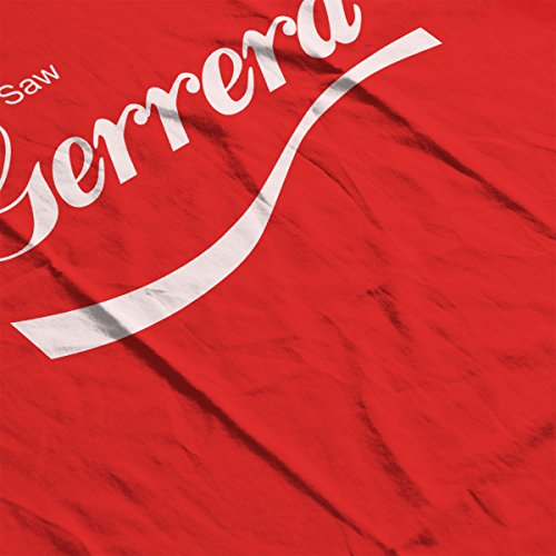 Star Wars Rogue One Saw Gerrera Cola Logo Men's Vest Red
