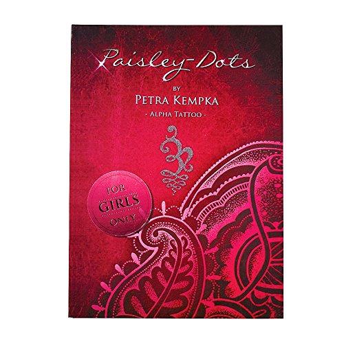 ATOMUS 30 Seiten Tattoo Vorlagen Book Tattoo Nachschlagewerk Anleitung Blinken Skizze Hand Brust