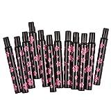 Davidsonne schwarz Kunststoff einziehbarer Lippenpinsel
