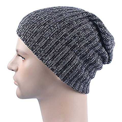 Autumn And Winter Knitted Warm Beanie Hat Skiing Slouch Stretch Outdoor Sports Unisex Wind Proof Cap