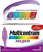 Multicentrum Mujer, Complemento Alimenticio con 13 Vitaminas y 11 Minerales, para Mujeres a partir de 18 años