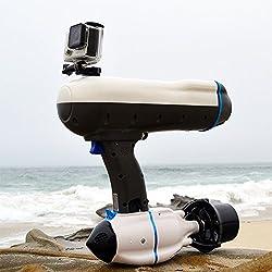 Bixpy Propulsor Submarino Swimjet Scuba para Snorkelling y Buceo -35 Minutos de Tiempo de Uso a Alta Velocidad y 2 Horas a Baja Velocidad -Profundidad: 30 m-3 velocidades