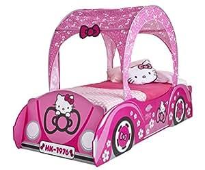 worlds apart 458hll01em hello kitty einzelbett im auto design mit baldachin k che. Black Bedroom Furniture Sets. Home Design Ideas