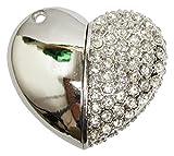 Zeztee Heart Shape Fancy 16GB Pen Drive ...