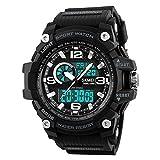 El reloj impermeable luminoso de los hombres se divierte las fuerzas especiales del reloj...