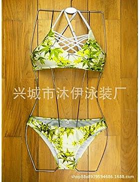 Conjuntos de Bikini Sexy traje de baño Trajes de baño Ropa de moda de adelgazamiento sujetador deportivo, imágenes,M