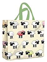 Samuel Lamont PVC Tote Shopping Bag Sheepish, small