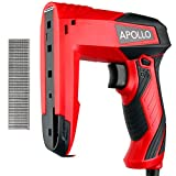 Apollo Electric Dual Function Staple Gun & Brad Nailer, including 400 x 10mm