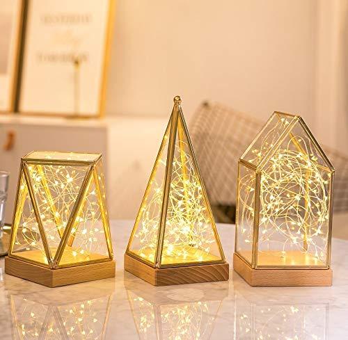 ebetrieben, 10M 100er LEDs Kupferdraht Warmweiß Lichterkette Sternen, IP65 Wasserdicht Sternenlicht Dekolicht, für Außen Innen Geburtstag Party Hochzeit DIY Deko, 2 Stück ()