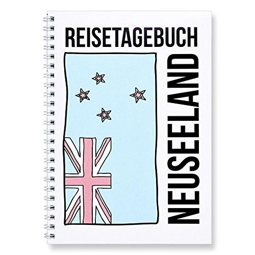 CUPCAKES & KISSES® Reisetagebuch zum selberschreiben I für Neuseeland I interaktiv zum ausfüllen I mit spannenden Aufgaben I DIN A5 Ringbuch