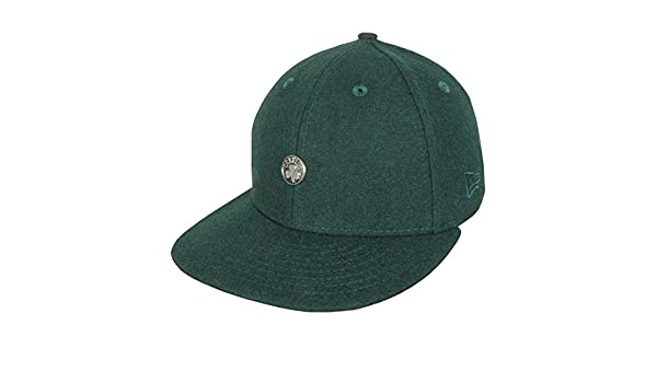 ad45511a4c3cce New Era 59FIFTY Low Profile NBA Pin Boston Celtics Fitted Cap:  Amazon.co.uk: Clothing