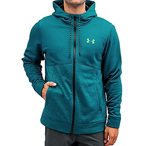 Under Armour Storm AF Men's Sweatshirt Icon Zip Hoodie Green green Size:M