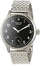 "Dugena Herren-Armbanduhr EPSILON 5 ""Flieger"" Analog Handaufzug Edelstahl 7090059"