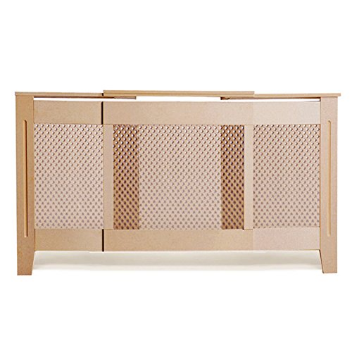 Happyjoy-Radiator-Covers-Cabinet-Adjustable-Unfinished-MDF-Covers-Diamond-Grill-Traditional-Cover-1400mm-up-to-1920mm