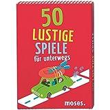 Moses Verlag 21031 - 50 lustige Spiele für unterwegs