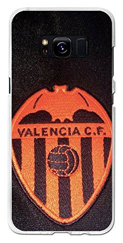 eb3beeae24c BeCool Funda Gel Flexible Valencia CF para Samsung Galaxy S8 - Carcasa TPU  Licencia Oficial Valencia