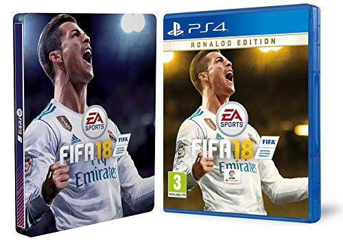 FIFA 18 - Edición Ronaldo + Steelbook (Exclusivo en Amazon)